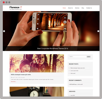 florence-free-wordpress-theme