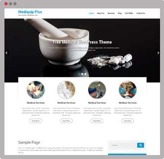 mediquip-free-wordpress-theme